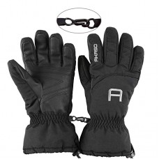 AKASO Ski Gloves - 3M Thinsulate Insulated Warm Snow Gloves, Windproof Waterproof Breathable Winter Gloves for Men & Women