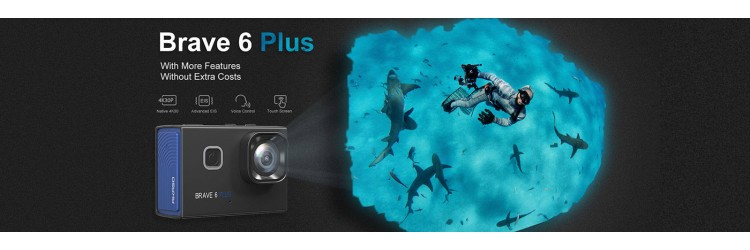 AKASO Announces the New Brave 6 Plus Action Camera