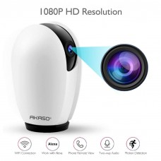 AKASO P30 Wireless Camera Work with Alexa