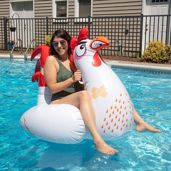 Chicken Pool Float