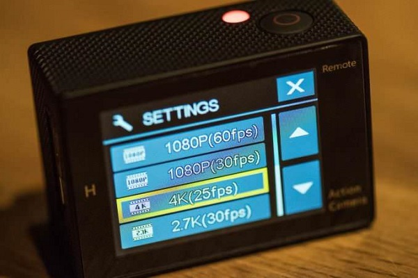 Use Action Camera