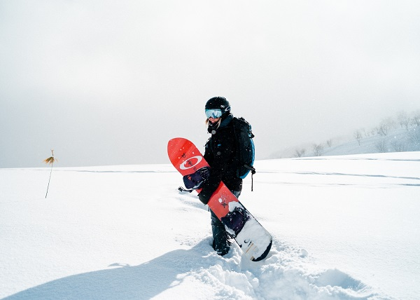 Snowboarder for First Time